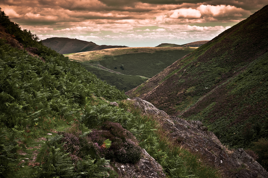 Carding Mill Valley, South Shropshire